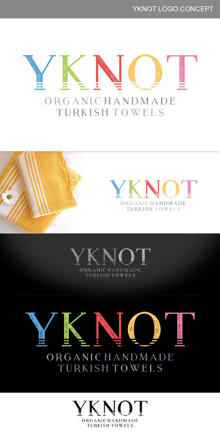 YKNOT Logo Design