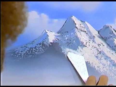Боб Росс - Учимся рисовать горный водопад  (5 сезон) - YouTube