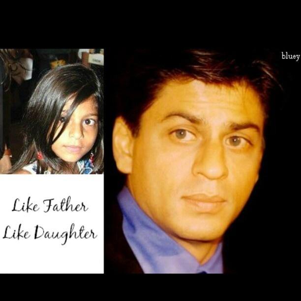 Shahrukh and Suhana - Like Father like Daughter