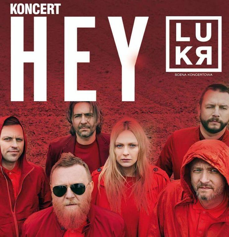 Koncert zespołu HEY wklubie LUKR