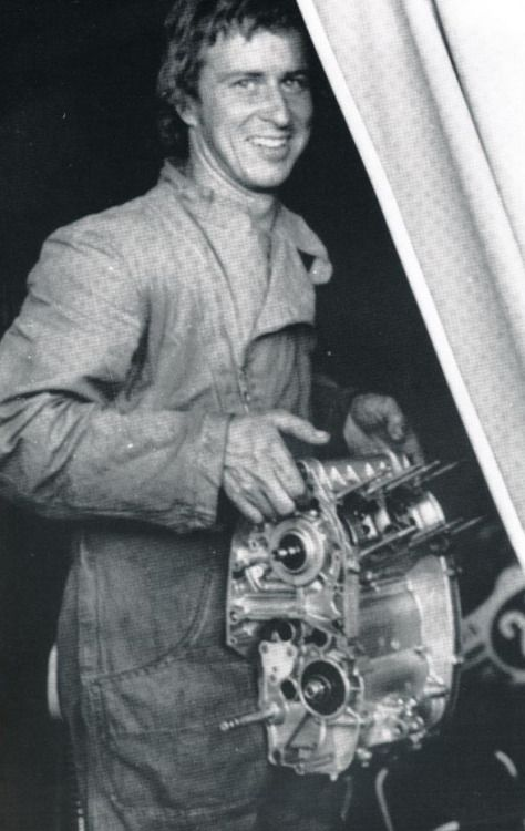 Jarno it was also his own mechanic.