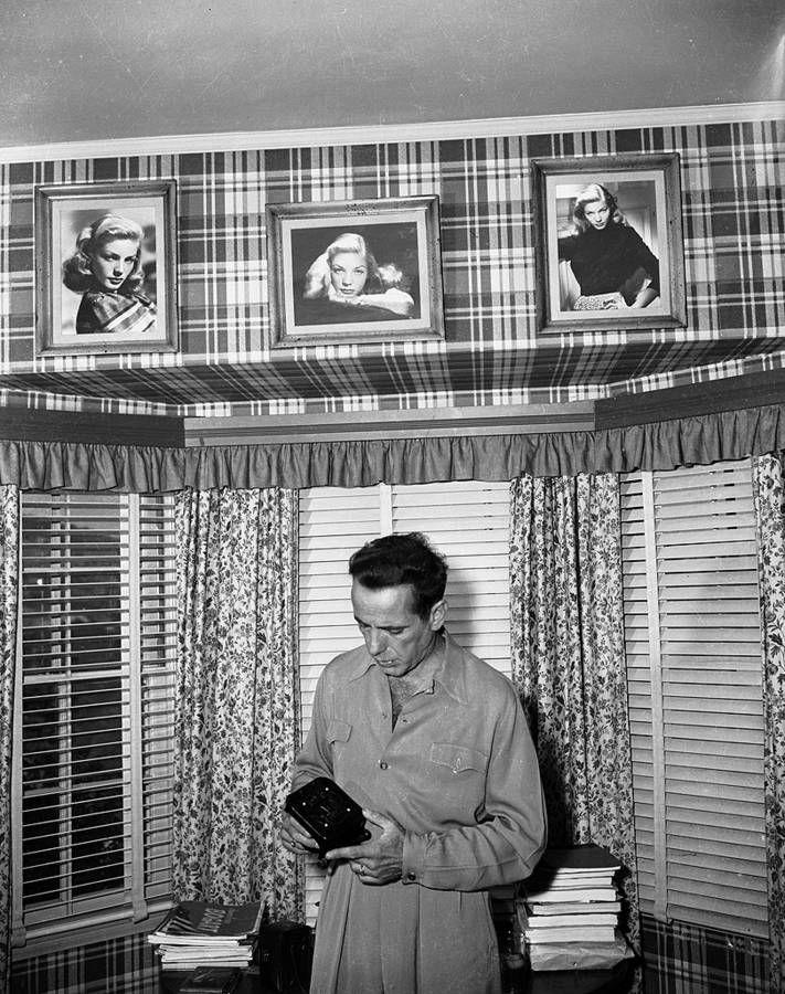 home sweet home - Humphrey Bogart