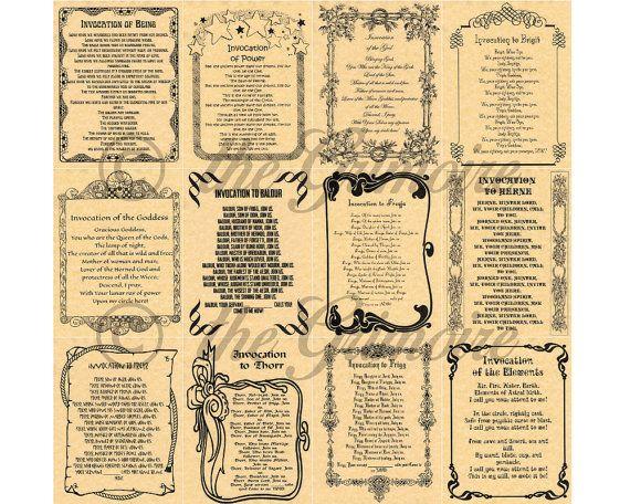 Appels à 12, livre des ombres Pages, sorcellerie, Wicca, comme Charmed, sort de Pages, Pages BOS, vrai livre de sorts, Pages de livre de sort