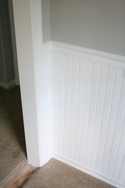 The 25 best bead board walls ideas on pinterest bead board bathroom beadboard in bathroom for Beadboard ideas for living room