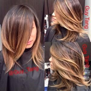 Short hair ombre by 103