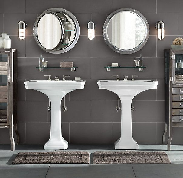 Inspiration for bathroom Estimated cost for a 'low end' version is 1500.00, including bath mats etc