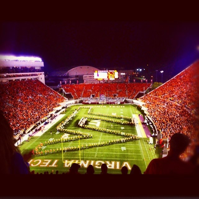 Lane Stadium....the place to be!