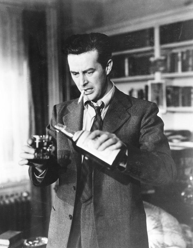 The Lost Weekend [1945] by Billy Wilder, starring Ray Milland, Jane Wyman, Phillip Terry, Howard da Silva, Doris Dowling, and Frank Faylen.