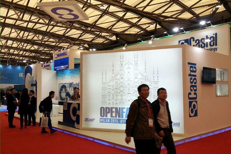 China Refrigeration 2015, #China #Shanghai #refrigeration #airconditioning #Aprile2015 #riscaldamento #ventilazione #fair #Castel #stand #ChinaRefrigeration #OpenFactory #event
