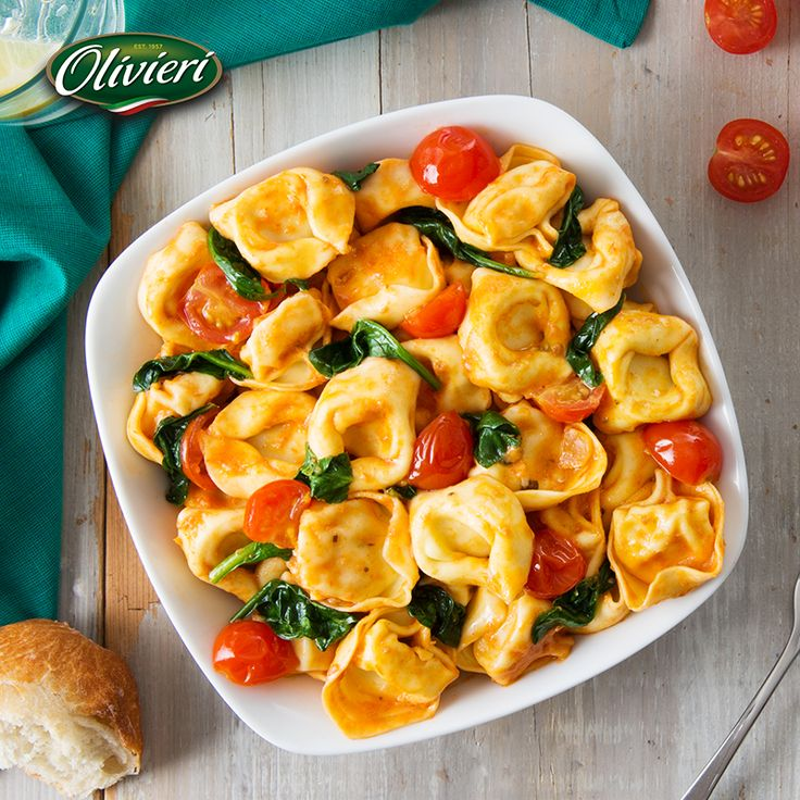 Gather the famiglia around the table for a refreshing Sunday dinner with this stunning recipe! #OlivieriRecipes