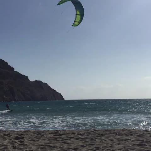 #Vine #Kitesurfing #Plakias #Crete #Greece