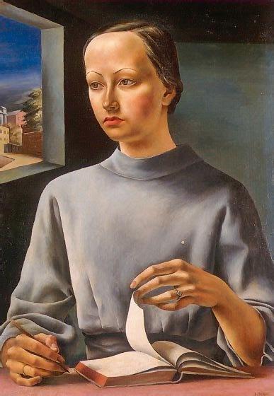 La muchacha del libro (1936) Antonio Berni
