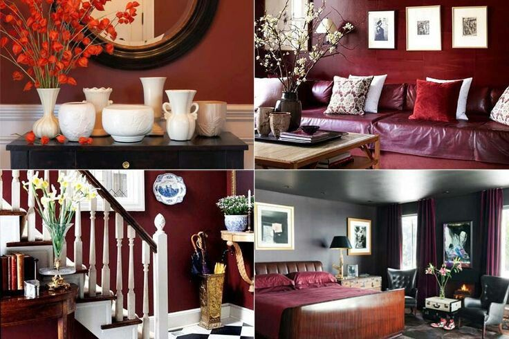 The Marsala wine shades all over the place gives the intense and rhythmic charm , certainly a space of colourful persona.