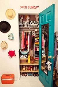 Organizing a small closet... Going to need this for next year!