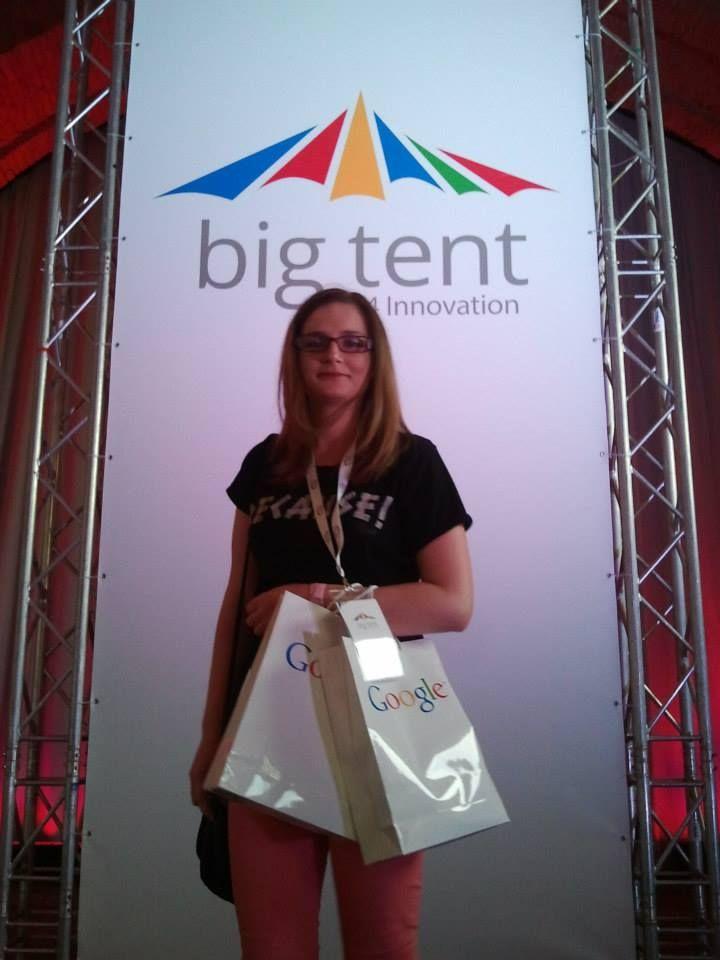 #bigtent #Google #Warsaw #KasiaG
