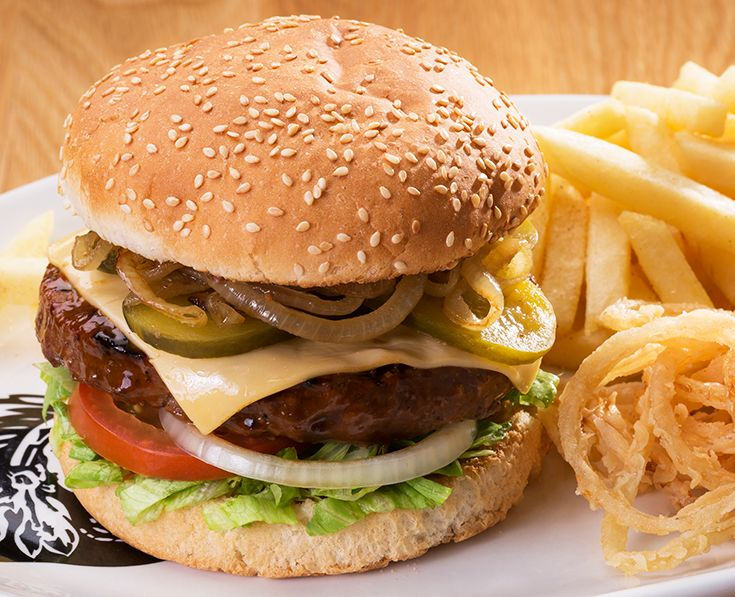 Old School Burger: Melted cheese with pan-fried onions. https://www.spur.co.za/menu/burgers/