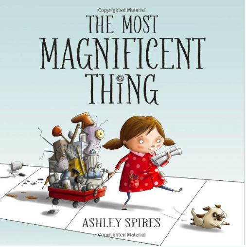 A fabulous story of a girl with perseverance and grit. She works through her obstacles to create something magnificent. included in this  post are links for a trailer and another by the author. PERFECT Book for beginning of year