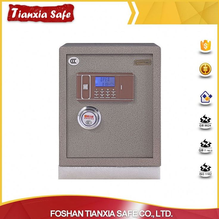 High security electronic fireproof jewelry money safe box for home and business