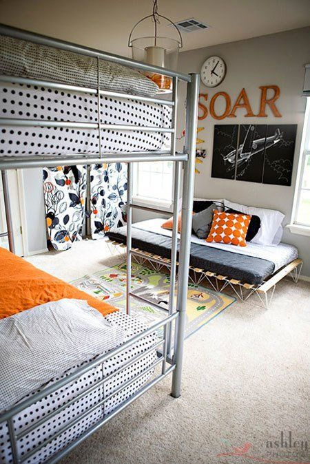 Shared spaces:A Definitely, Indisputably Not-Girly Shared Room