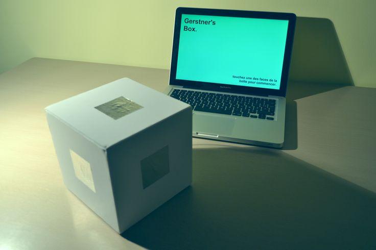 ~ Gertsner's Box http://www.camillemartin.fr/portfolio/trombino-touch/