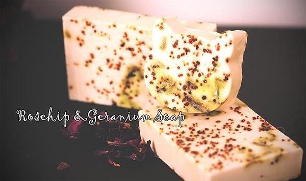 Rosehip & Geranium Goats Milk Soap * Plain Packaging*, AU$3.95