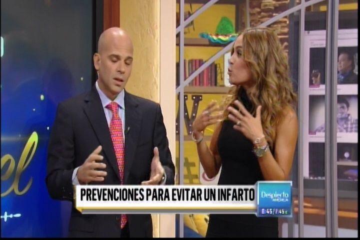 """El Dr. Juan Rivera Nos Explica Como Prevenir Un Infarto En """"Despierta America"""""""