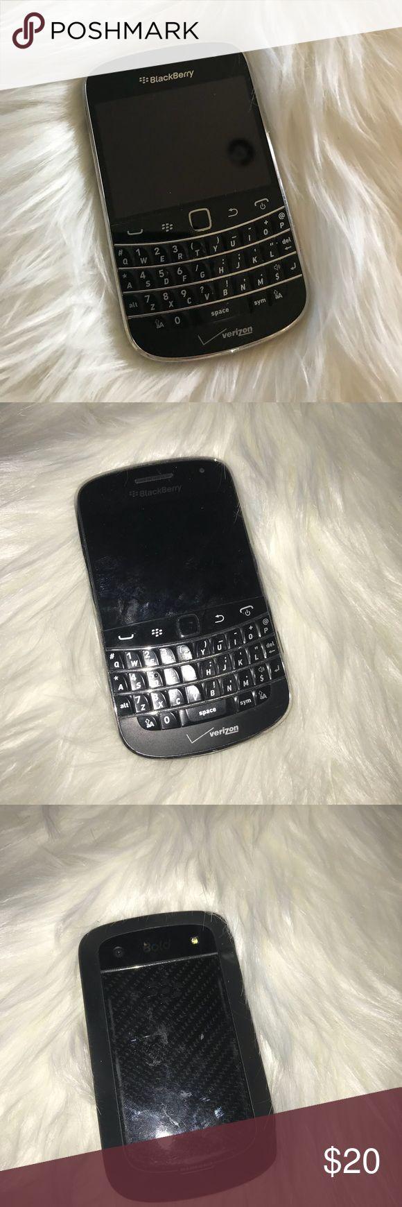 """Verizon Blackberry phone 📱 Verizon blackberry phone 📱 """"no phone cord"""" Verizon Accessories"""