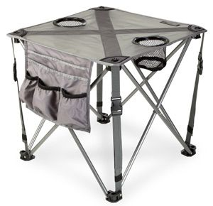 Favorite Camping Product #2: Camp End Table to securely place your beer, book or s'mores