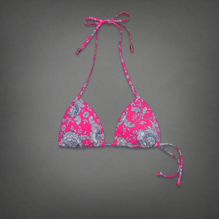 Womens Elicia Swim Top | Womens Swim | Abercrombie.com