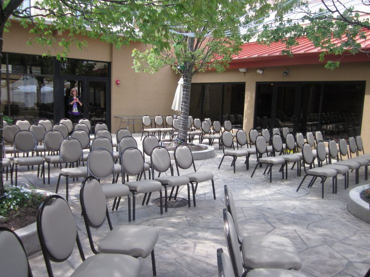 Our Outdoor Patio Is A Great Place To Have An Wedding