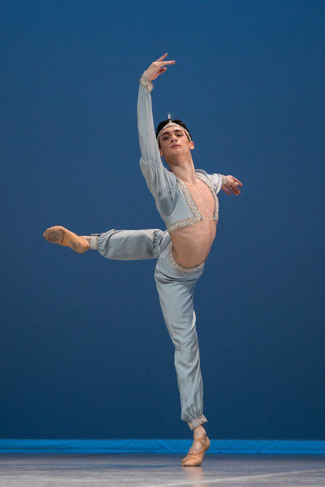 Introducing Michele Esposito... winner of the Prix de Lausanne 2017