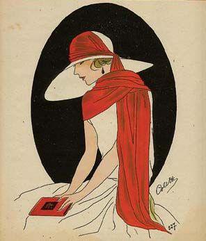 Vintage Clothing Blog | Vintage Wedding Dresses | Salvage Life: Valentine's Day Inspiration: Art Deco Ladies