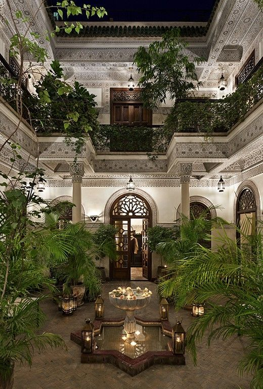 Morocco Travel Inspiration - Villa des Orangers, Boutique Hotel and Gourmet restaurant in town Marrakech – Relais & Châteaux