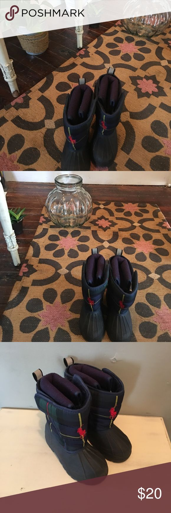 Kids RL Polo boots Size 9 great condition Ralph Lauren Shoes Boots