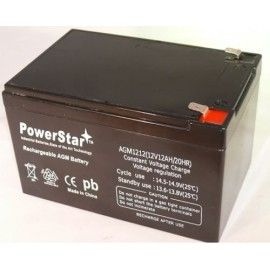 12V 12AH Battery Replaces UB12150F2 12V 15AH Battery - NEW! - 3 YEAR WARRANTY  12V 12AH Battery Replaces UB12150F2 12V 15AH Battery - NEW! - 3 YEAR WARRANTY PowerStar® 12V 12AH Sealed Lead Acid Battery X2 2 YEAR WARRANTY30 DAY MONEY BACK GUARANTEE SHIPS FROM USA Applications Uninterruptable Power Supply (UPS) Electric Power System (EPS) Emergency backup power supply Emergency light Railway signal Aircraft signal Alarm and security system Electronic apparatus and equipment Communication...