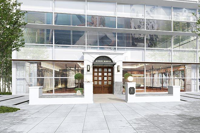 アーバンリゾートな空間のドレスショップMIRROR MIRROR 横浜が11月2日オープンへ