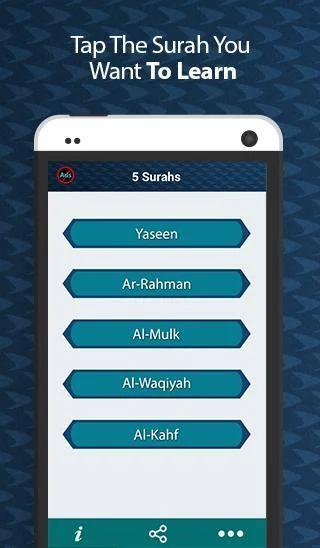 5 Surahs - Yasin Rahman & More - screenshot