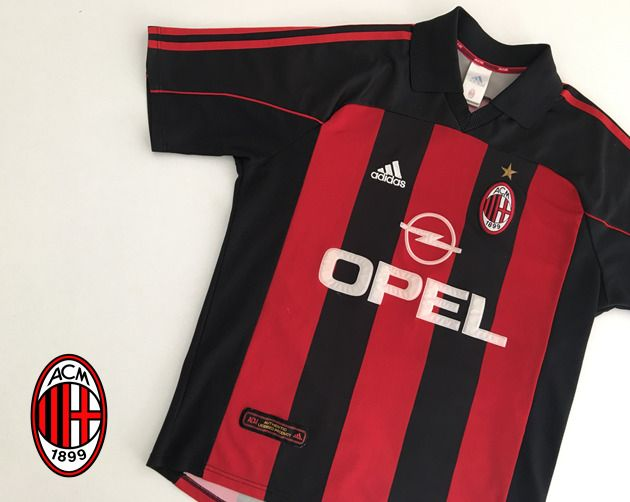 2000 02 AC Milan Adidas Training Tracksuit (Very Good) L