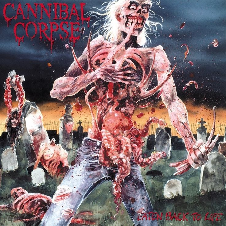 Cannibal Corpse - Eaten Back To Life on Limited Edition LP