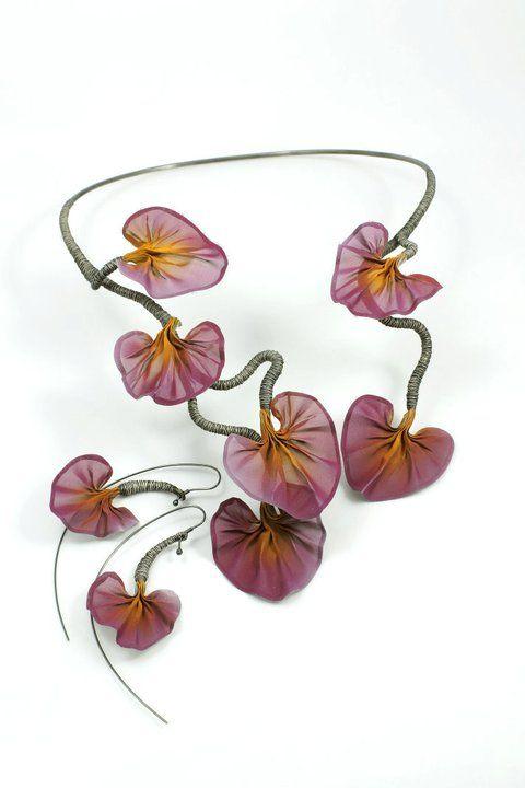 Necklace & earrings www.i-techne.pl