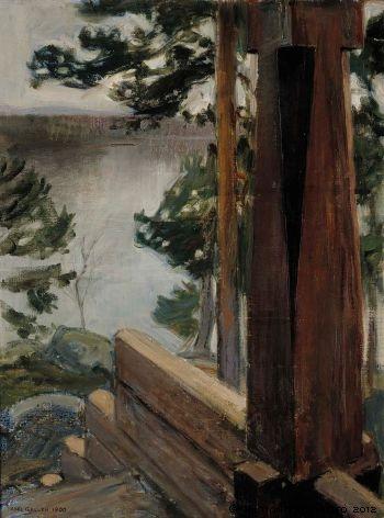 Kalelan kuisti, 1900