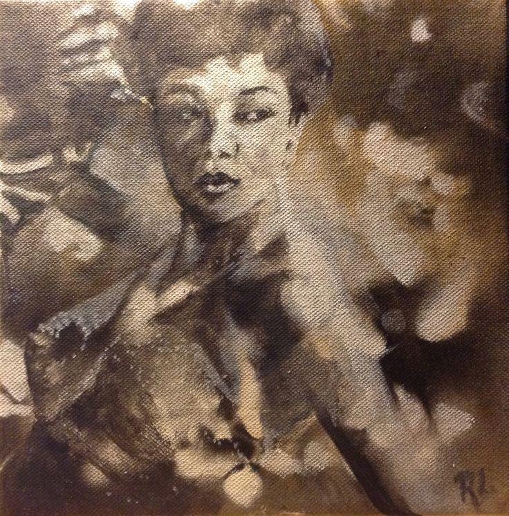 #sarah vaughan#20x20#canvas#acrylic,alkyd#rithva.dk