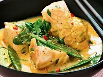 Lax i thaikryddad sås | Recept från Köket.se