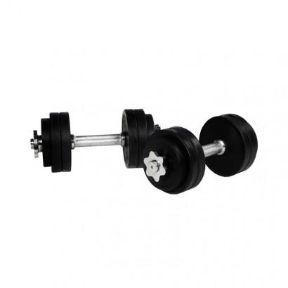 Dumbellset 30 kg Rubber  #dumbell-set #fitnessapparatuur