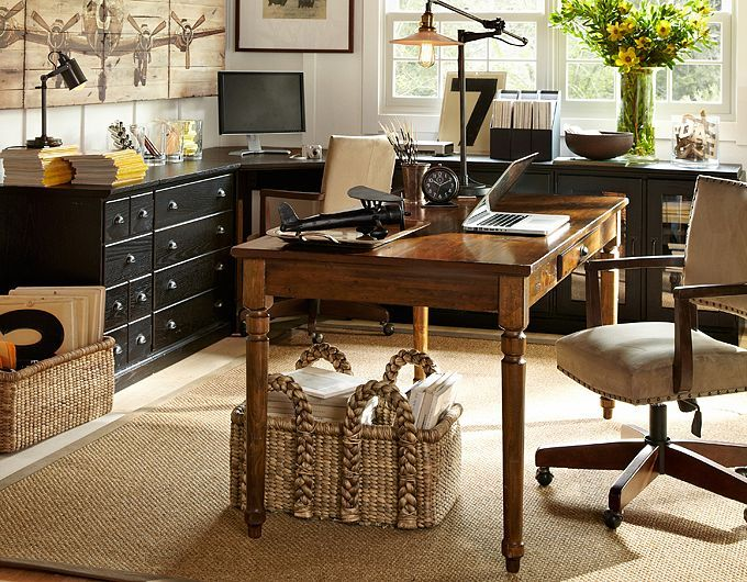 pottery barn home office furniture. 28 elegant and cozy interior designs by pottery barn officeoffice furnitureoffice home office furniture