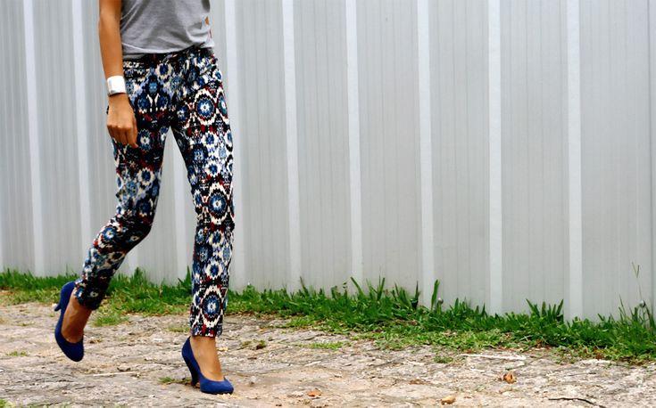 pantalón estampado navajo tribal print pattern pants trousers diseño tendencia trend design miraquechulo