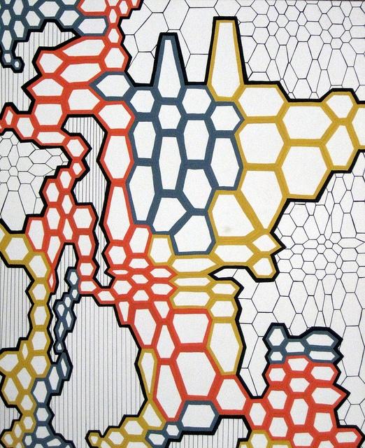 gouache pattern design