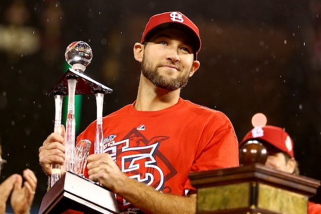 NLCS MVP Michael Wacha(Getty Images)