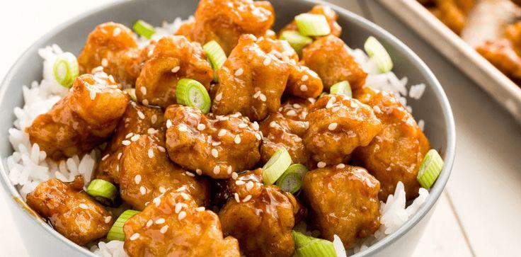 Una receta fácil de orange chicken o pollo a la naranja estilo chino. Muy rápido y fácil de hacer. Un plato económico y que gusta a los niños.
