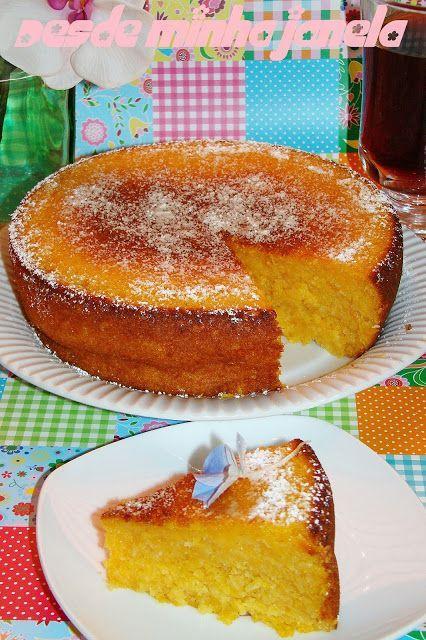 O melhor restaurante do mundo é a nossa Casa: O melhor bolo de batata doce com coco